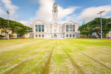 Old architecture and The National museum of singapore is a national museum in singapore and the oldest museum in singapore city. Reklamní fotografie - 80748624