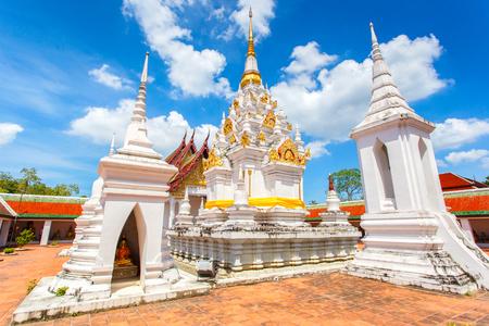 Wat Phra Borommathat Chaiya Ratchaworawihan, Surat thani Province, thailand