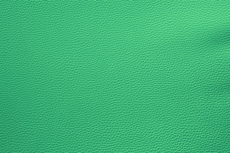 Close up detail green lerther and texture background