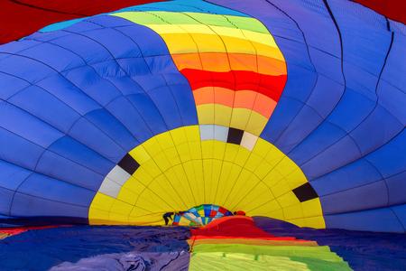 Balloon Festival at Chiang Rai Province, Thailand. Stock Photo