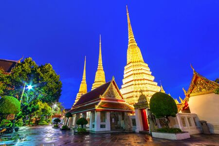 Wat Pho Temple or Wat Phra Chetuphon in Bangkok, Thailand