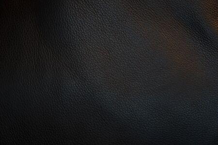 Schwarzes Leder und Texturhintergrund.