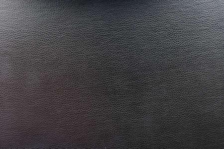 Black leather and texture background. Foto de archivo