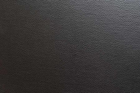 Black leather and texture background. Standard-Bild