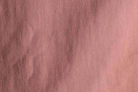 Brown fabric cloth polyester texture background.