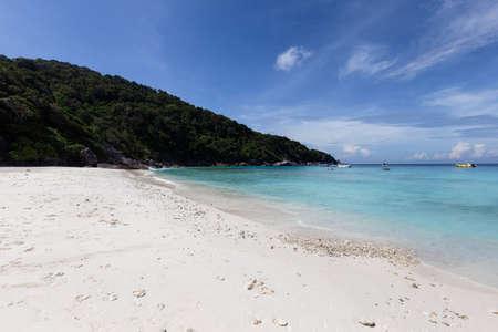 Beautiful nature of the islands in the Andaman Sea at Similan Islands, Mu Ko Similan National Park, Phang-nga, Thailand Standard-Bild