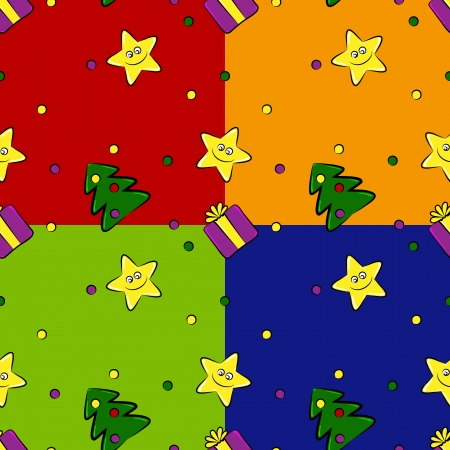 2013 Happy New Year seamless texture illustration Vector