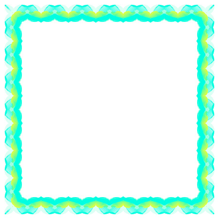 abstract bacground: Abstract colorful frame on a white bacground Illustration
