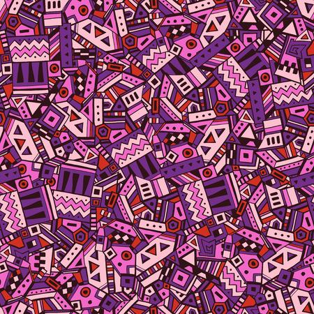 native culture: Ethnic geometric seamless pattern vector illustration eps 10