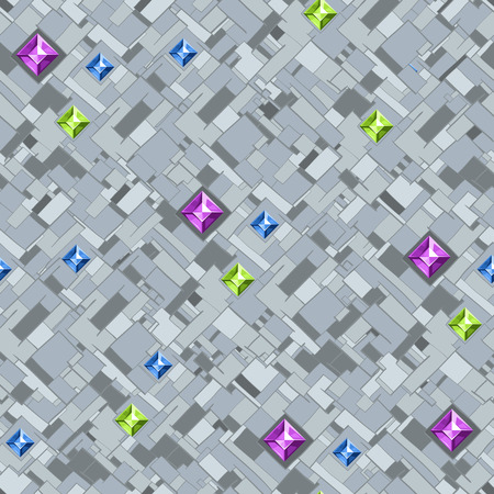 Brilliant background.Geometric texture with colorful diamonds.Vector illustration eps10.