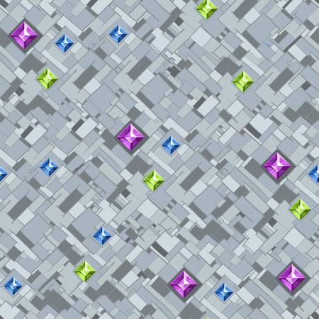 Briljante background.Geometric textuur met kleurrijke diamonds.Vector illustratie eps10. Stockfoto - 37984965