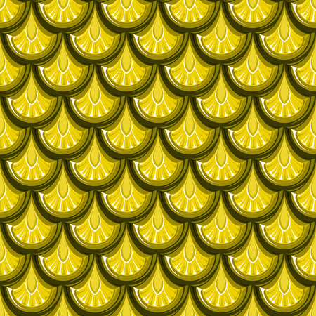 Seamless gold glänzenden Fluss Fischschuppen. Standard-Bild - 39173895
