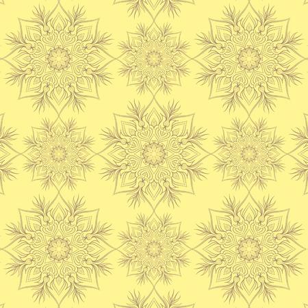 Vintage-Muster mit linear Ornament. Kann für Textilien, Buchgestaltung, Muster füllt, Web-Seite Hintergrund, Oberflächenstrukturen, scrapbooking verwendet werden. Vektor-Illustration eps 10. Standard-Bild - 39177529