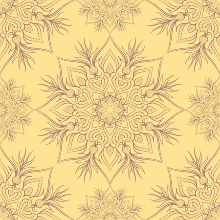 Vintage-Muster mit linear Ornament. Kann für Textilien, Buchgestaltung, Muster füllt, Web-Seite Hintergrund, Oberflächenstrukturen, scrapbooking verwendet werden. Vektor-Illustration eps 10. Standard-Bild - 39208364