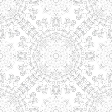 White water drops - seamless texture. Ilustracja