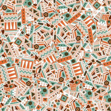 Etnische geometrische naadloos patroon. Vector illustratie eps 10 Stockfoto - 39550168