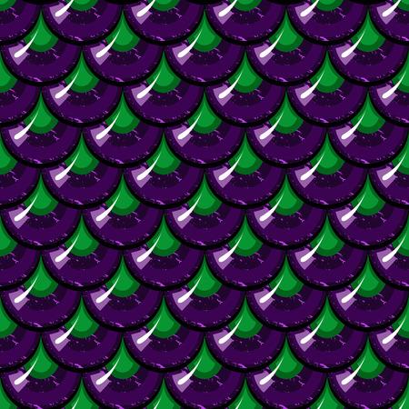 Nahtlose bunten glänzenden Fluss Fischschuppen. Drachenschuppen. Brilliant Hintergrund für Design. Vektor-Illustration Standard-Bild - 41049912