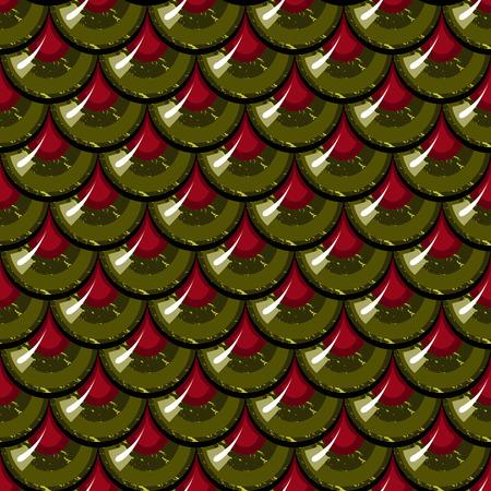 Nahtlose bunten glänzenden Fluss Fischschuppen. Drachenschuppen. Brilliant Hintergrund für Design. Vektor-Illustration eps 10 Standard-Bild - 41049921