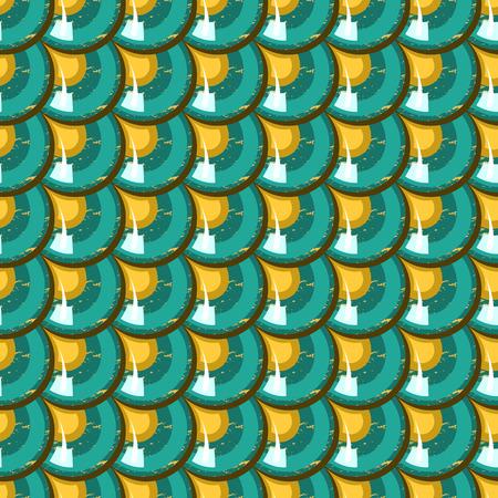 escamas de peces: Escamas brillantes coloridos inconsútil de los pescados de río. Escala De Dragón. Fondo brillante para el diseño. Ilustración vectorial
