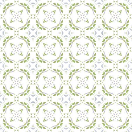 Farblichtmuster mit vegetativen Elementen. Kann für Textilien, Buchgestaltung, Muster füllt, Web-Seite Hintergrund, Oberflächenstrukturen, scrapbooking verwendet werden. Vektor-Illustration eps 10. Standard-Bild - 41868551