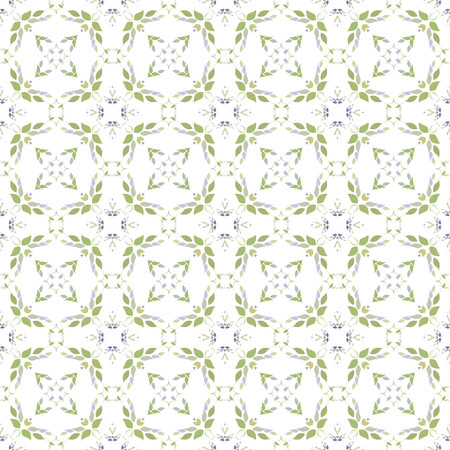 Colored light pattern with vegetative elements. Can be used for textiles, book design, pattern fills, web page background, surface textures, scrapbooking. Vector illustration eps 10. Stock Illustratie