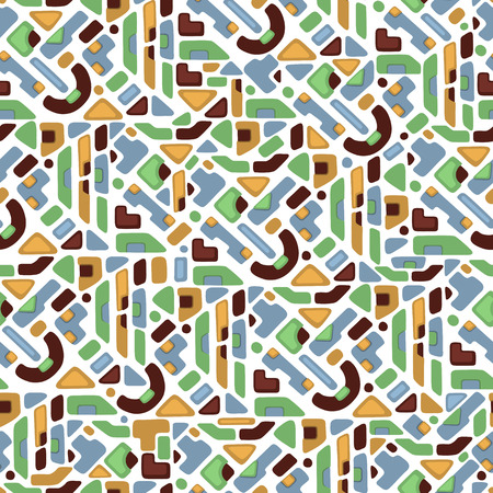 Ethnic geometric seamless pattern.  Can be used for textiles, book design, pattern fills, web page background, surface textures, scrapbooking. Vector illustration eps 10
