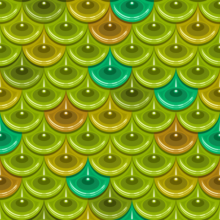 Seamless colorful shiny river fish scales. Dragonscale. Brilliant background for design. Vector illustration eps 10
