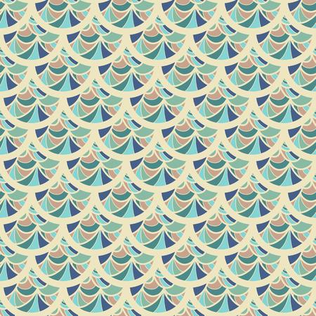 celadon green: Seamless colorful vintage river fish scales. Dragonscale. Brilliant background for design. Vector illustration eps 10