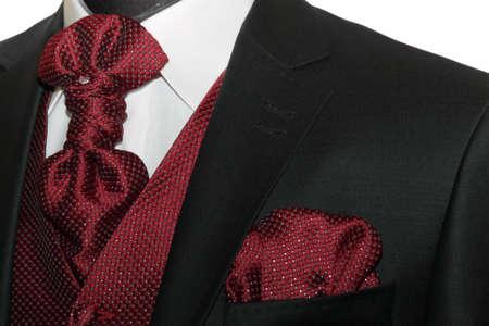 Dark jacket, tie