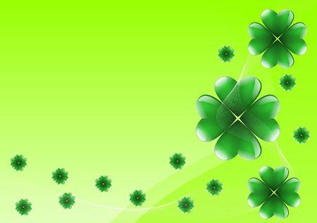 fluke: St Patricks Day background