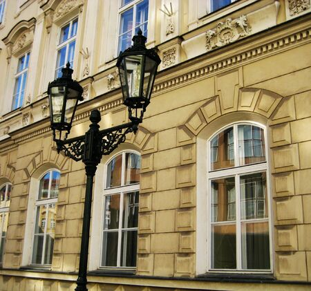 old building and streetlight Stock Photo - 2900987