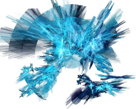 abstract fractal on white background Stock Photo - 3217879