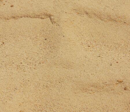 close up yellow sand background Stock Photo