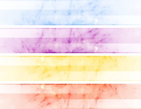 color abstract header banners