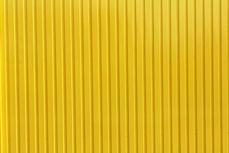 yellow metal plate background