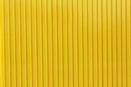 corrugation: yellow metal plate background