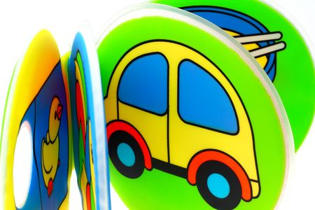 children toy isolated on white background Stock Photo - 5831143