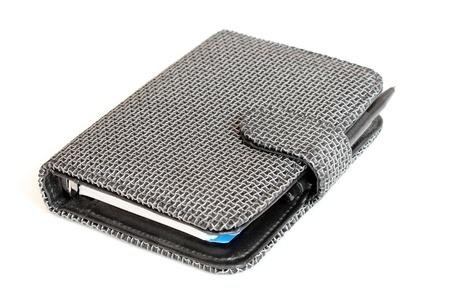 notebook isolated on white background Stock Photo - 8495650