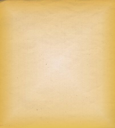 aged yellow paper empty texture Stock Photo - 16925715
