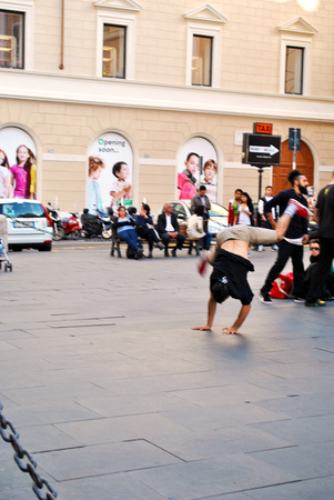 Summer freestyle dance at Rome