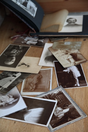 Old photos and album Stock Photo - 9697304