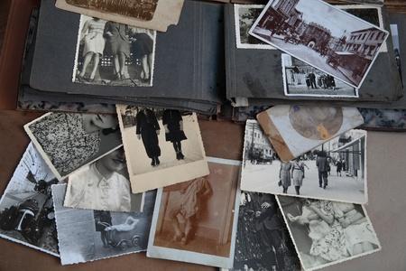 Oude foto's en album