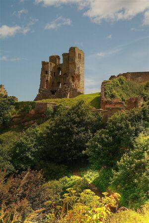 Scarborough Castle, North Yorshire, UK , Banque d'images