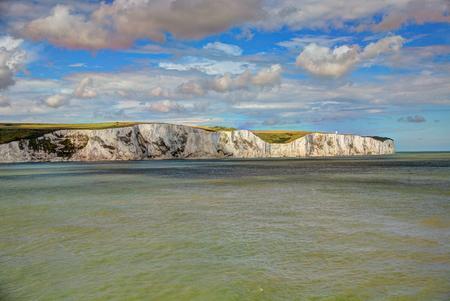 dover: Ciliff in Dover, UK. Stock Photo