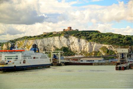 dover: Dover, UK. Stock Photo