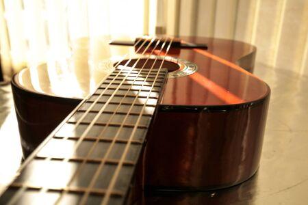 frets: Acoustic Guitar.