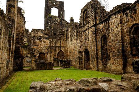 the abbey: Kirkstall Abbey.