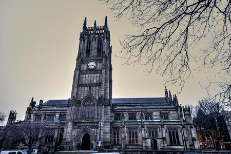 Leeds Minster Cathedral. UK. 免版税图像