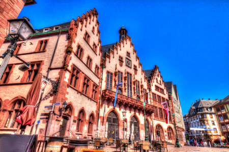 Medieval Town Hall in Frankfurt am Main. Germany.