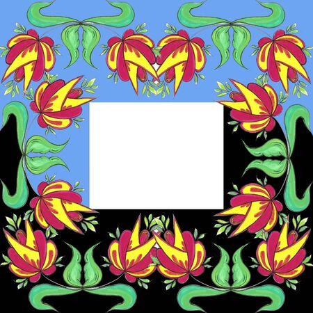 abstrait: frame 10 Stock Photo